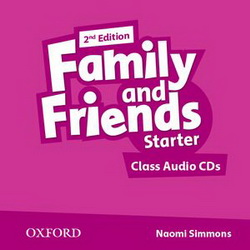 Family and Friends 2nd Edition Starter: Class Audio CDs (аудіодиск) - фото книги