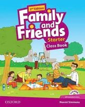 Family and Friends 2nd Edition Starter: Class Book with MultiROM(підручник) - фото обкладинки книги