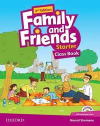 Family and Friends 2nd Edition Starter: Class Book with MultiROM(підручник) - фото книги