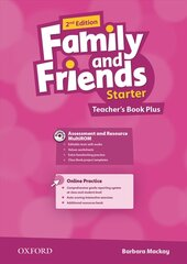 Family and Friends 2nd Edition Starter. Teacher's Book Plus (with Assessment and Resource CD-ROM and CD) - фото обкладинки книги