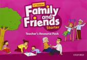 Family and Friends 2nd Edition Starter: Teacher's Resource Pack (додаткові матеріали) - фото обкладинки книги