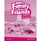 Family and Friends 2nd Edition Starter: Workbook - фото обкладинки книги