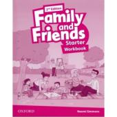 Family and Friends 2nd Edition Starter: Workbook - фото обкладинки книги