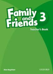 Family and Friends 3. Teacher's Book - фото обкладинки книги