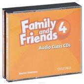 Family and Friends 4. Class Audio CDs - фото обкладинки книги