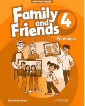 Family and Friends 4. Workbook - фото обкладинки книги