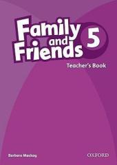 Family and Friends 5. Teacher's Book - фото обкладинки книги
