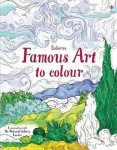 Famous Art to Colour - фото обкладинки книги