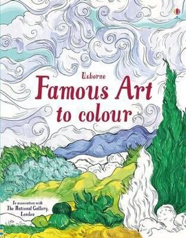 Famous Art to Colour - фото книги