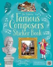 Famous Composers. Sticker Book - фото обкладинки книги
