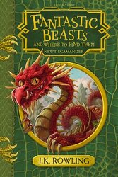 Fantastic Beasts and Where to Find Them: Hogwarts Library Book - фото обкладинки книги