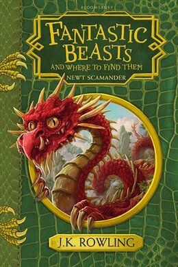 Fantastic Beasts and Where to Find Them: Hogwarts Library Book - фото книги