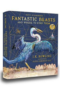 Fantastic Beasts and Where to Find Them: Hogwarts Library Book (Illustrated Edition) - фото книги