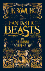 Fantastic Beasts and Where to Find Them: The Original Screenplay - фото обкладинки книги