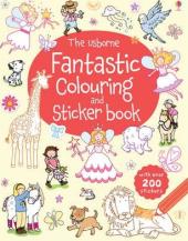 Fantastic Colouring and Sticker Book - фото обкладинки книги