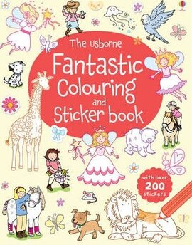 Fantastic Colouring and Sticker Book - фото книги