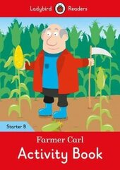 Farmer Carl Activity Book - Ladybird Readers Starter Level B - фото обкладинки книги