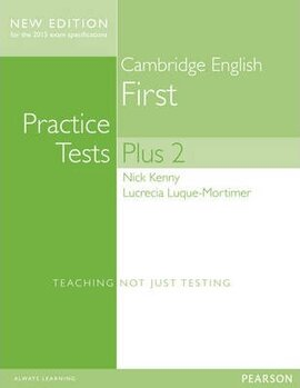 FCE Cambridge First Practice Tests Plus New Edition Students' Book with Key (підручник) - фото книги