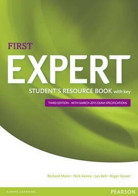 FCE Expert First 3rd Edition Student's Resource Book with Key - фото книги