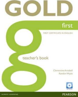 FCE Gold First Teachers Book + CD Teacher's Book (книга вчителя) - фото книги