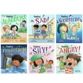 Feelings and Emotions: 6 Books Set - фото книги