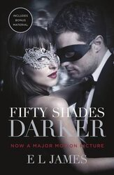 Fifty Shades Darker : Official Movie tie-in edition, includes bonus material - фото обкладинки книги