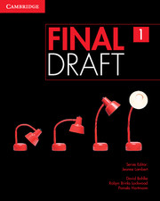 Підручник Final Draft Level 1 Student's Book with Online Writing Pack