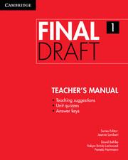 Final Draft Level 1 Teacher's Manual - фото книги