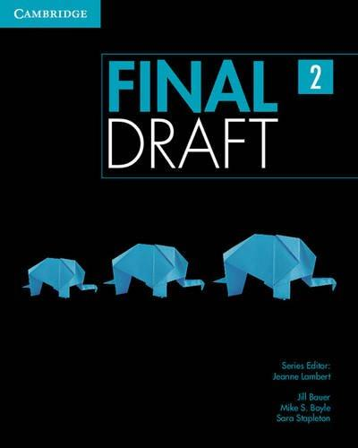 Підручник Final Draft Level 2 Student's Book with Online Writing Pack
