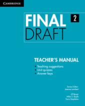 Final Draft Level 2 Teacher's Manual - фото обкладинки книги