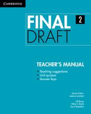 Final Draft Level 2 Teacher's Manual - фото книги