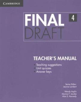 Книга для вчителя Final Draft Level 4 Teacher's Manual
