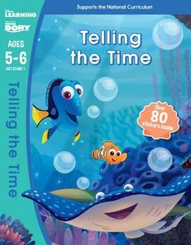 Finding Dory. Telling the Time. Ages 5-6 - фото книги