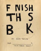 Finish This Book - фото обкладинки книги