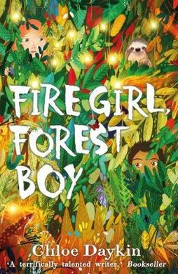 Fire Girl, Forest Boy - фото книги