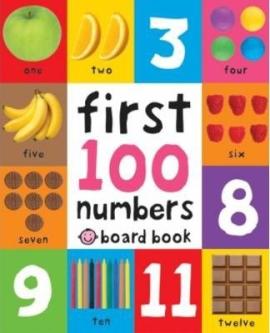 First 100 Numbers - фото книги