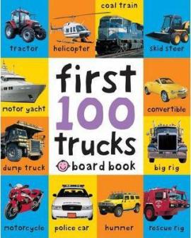 First 100 Trucks - фото книги