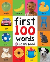 First 100 Words Board Book - фото обкладинки книги