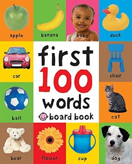 First 100 Words Board Book - фото книги
