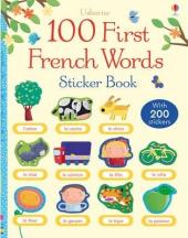 First 100 Words in French. Sticker Book - фото обкладинки книги