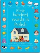 First 100 Words in Polish - фото обкладинки книги