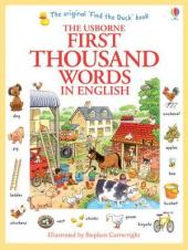 First 1000 Words in English - фото обкладинки книги
