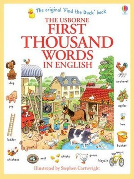 First 1000 Words in English - фото книги