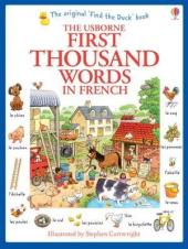 First 1000 Words in French - фото обкладинки книги