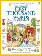 First 1000 Words in German - фото обкладинки книги