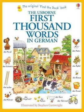 First 1000 Words in German - фото книги