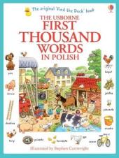 First 1000 Words in Polish - фото обкладинки книги