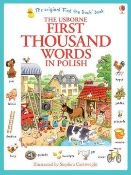 First 1000 Words in Polish - фото книги