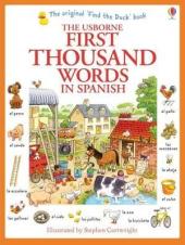 First 1000 Words in Spanish - фото обкладинки книги
