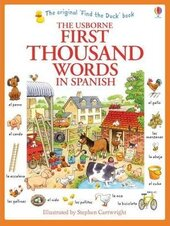 First 1000 Words in Spanish